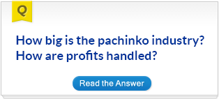 How big is the pachinko industry? How are profits handled?
