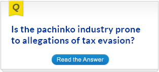 Is the pachinko industry prone to allegations of tax evasion?